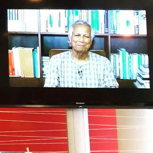 Foto vom Monitor